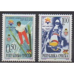 Bosnia and Herzegovina Serbian Republic - 2002 - Nb 218/219 - Winter Olympics