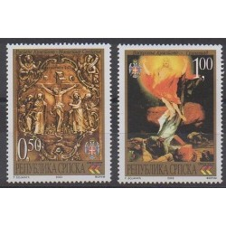 Bosnia and Herzegovina Serbian Republic - 2003 - Nb 251/252 - Easter