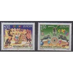 Bosnia and Herzegovina Serbian Republic - 2002 - Nb 224/225 - Circus - Europa