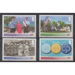 Caïmans (Iles) - 2010 - No 1147/1150 - Scoutisme
