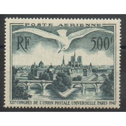France - Airmail - 1947 - Nb PA20 - Mint hinged
