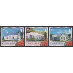 Cayman ( Islands) - 2014 - Nb 1234/1236 - Churches