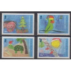 Caïmans (Iles) - 2015 - No 1248/1251 - Noël - Dessins d'enfants