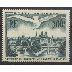 France - Airmail - 1947 - Nb PA20