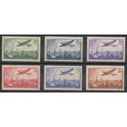France - Poste aérienne - 1936 - No PA 8/PA 13 - Neuf avec charnière