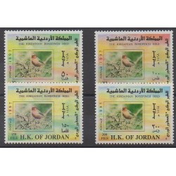 Jordanie - 1997 - No 1448/1451 - Oiseaux