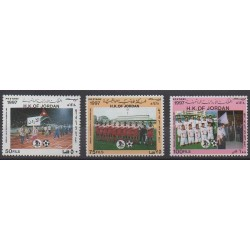 Jordan - 1997 - Nb 1470/1472 - Football