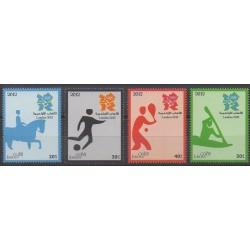 Jordanie - 2012 - No 1967/1970 - Jeux Olympiques d'été