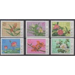 Macao - 1983 - Nb 478/483 - Flowers