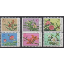 Macao - 1983 - No 478/483 - Fleurs