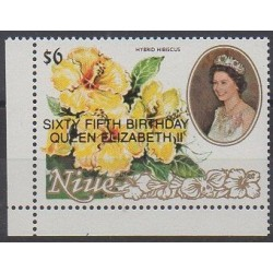 Niue - 1991 - Nb 565 - Flowers - Royalty