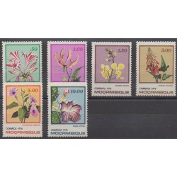 Mozambique - 1978 - Nb 651/656 - Flowers