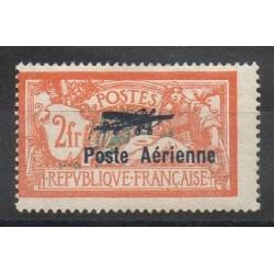 France - Poste aérienne - 1927 - No PA 1 - Neuf avec charnière