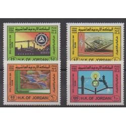 Jordanie - 1984 - No 1142/1145 - Sciences et Techniques