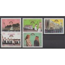 Jordan - 1985 - Nb 1181/1185 - Folklore