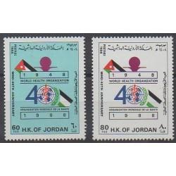 Jordan - 1988 - Nb 1246/1247 - Health