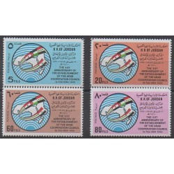Jordanie - 1990 - No 1291/1294