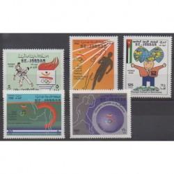 Jordan - 1992 - Nb 1324/1328 - Summer Olympics