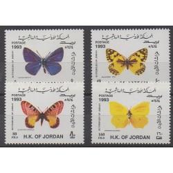 Jordan - 1993 - Nb 1346/1349 - Insects