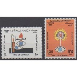 Jordanie - 1993 - No 1350/1351