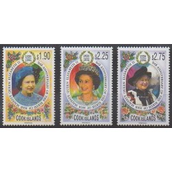 Cook (Islands) - 1996 - Nb 1144/1146 - Royalty