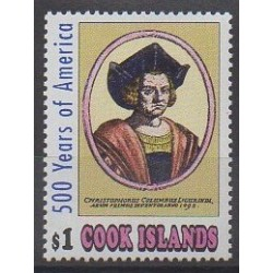 Cook (Islands) - 1991 - Nb 1018 - Christophe Colomb