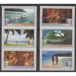 Cook (Islands) - 1994 - Nb 1101/1106 - Cinema