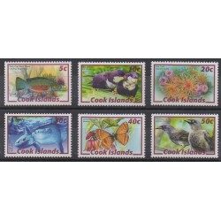 Cook (Islands) - 2007 - Nb 1249/1254 - Animals