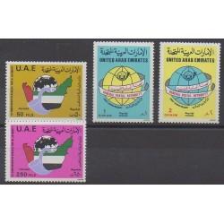 United Arab Emirates - 1986 - Nb 184/187 - Postal Service