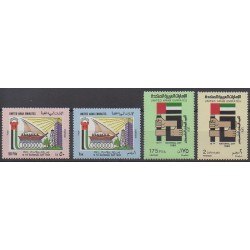 United Arab Emirates - 1986 - Nb 204/207 - Various Historics Themes