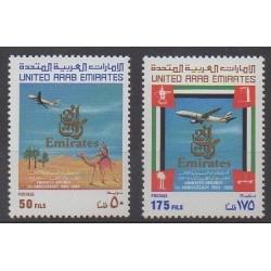 United Arab Emirates - 1986 - Nb 196/197 - Planes