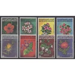 United Arab Emirates - 1990 - Nb 304/311 - Flowers