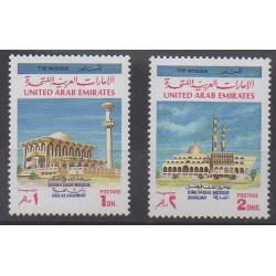 United Arab Emirates - 1991 - Nb 321/322 - Religion