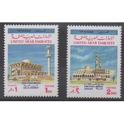 Emirats arabes unis - 1991 - No 321/322 - Religion