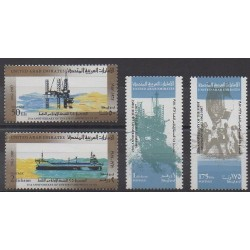 United Arab Emirates - 1987 - Nb 218/221 - Science
