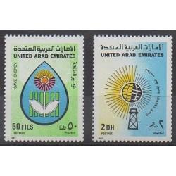 United Arab Emirates - 1987 - Nb 214/215 - Environment