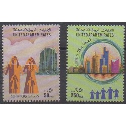 United Arab Emirates - 1995 - Nb 470/471