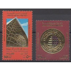 United Arab Emirates - 1992 - Nb 366/367 - Various Historics Themes