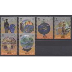 Jordan - 2011 - Nb 1937/1942 - Art