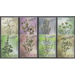 Jordan - 2011 - Nb 1881/1888 - Flora