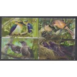 Cook (Islands) - 2007 - Nb 1255/1258 - Birds