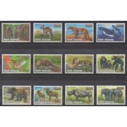 Cook (Islands) - 2001 - Nb 1189/1200 - Animals