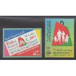 United Arab Emirates - 1997 - Nb 525/526