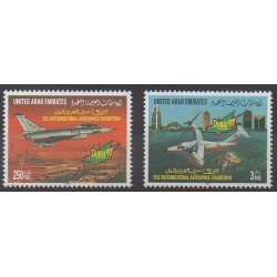 United Arab Emirates - 1997 - Nb 549/550 - Planes