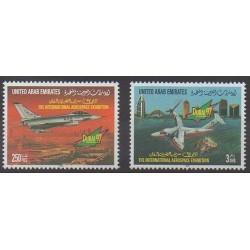 United Arab Emirates - 1997 - Nb 549/550 - Planes