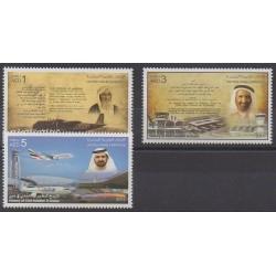 United Arab Emirates - 2014 - Nb 1123/1125 - Planes