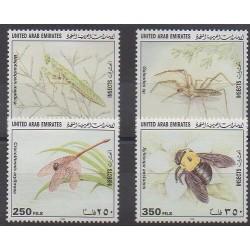 Emirats arabes unis - 1998 - No 557/560 - Insectes