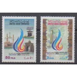 Emirats arabes unis - 1998 - No 569/570