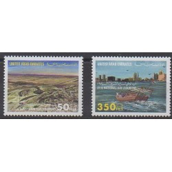 Emirats arabes unis - 1998 - No 577/578 - Tourisme