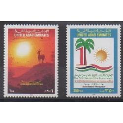 Emirats arabes unis - 1998 - No 571/572 - Environnement
